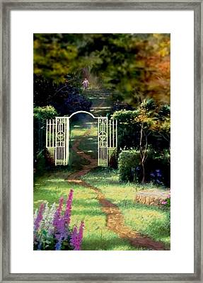 The Path Least Followed Seg 1 Framed Print by Ron Chambers