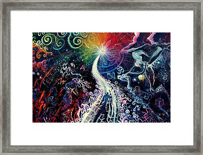 The Path To Enlightenment Framed Print by Steve Griffith