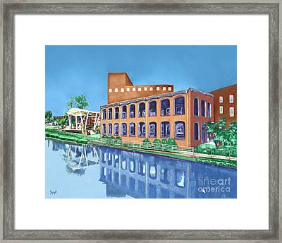 The Pavilion Framed Print by Rachelle Petersen