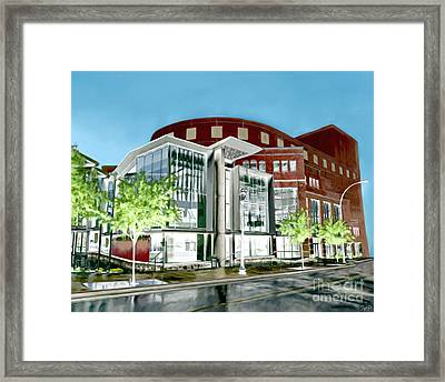 The Peace Center Framed Print by Rachelle Petersen