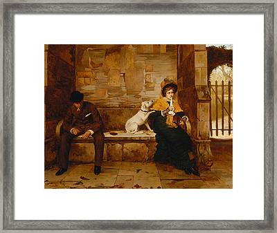The Peacemaker Framed Print by Edwin Hughes