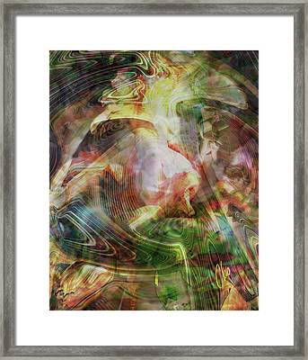 The Pearly Gates Framed Print by Charles Schneider