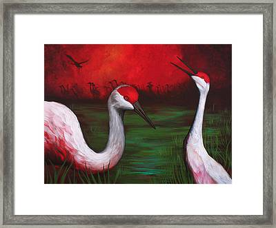 The People Framed Print by Bonnie Kelso