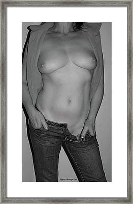 The Perfect Form Framed Print by Wayne Bonney