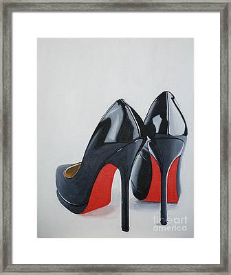 The Perfect Pair Framed Print by Devan Gregori
