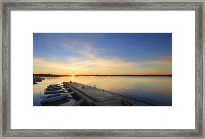 The Perfect Spot Framed Print by Lori Deiter