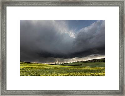 The Perfect Storm Framed Print by Ian Hufton
