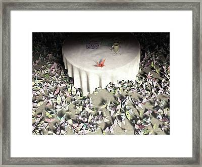 The Perfectionist Framed Print by Cynthia Decker