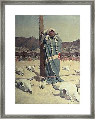 The Petition Framed Print by Newell Convers Wyeth