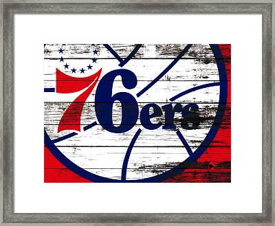 The Philadelphia 76ers 3e       Framed Print by Brian Reaves