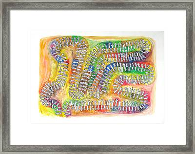 The Pi Holon Universe Framed Print by Dirk Laureyssens