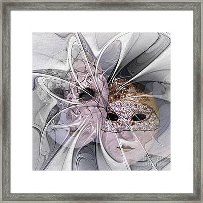 The Picture Behind The Fractal -17- Framed Print by Issabild -