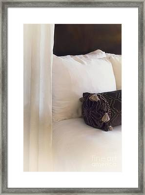 The Pillow Framed Print by Margie Hurwich
