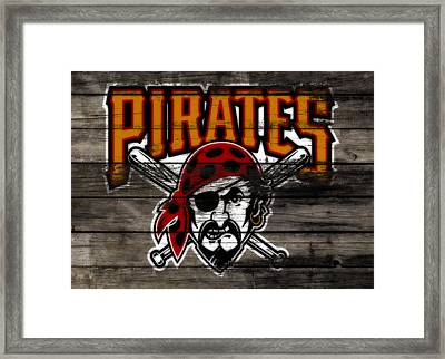 The Pittsburgh Pirates 1a Framed Print by Brian Reaves