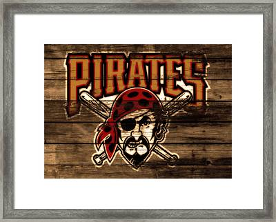 The Pittsburgh Pirates 1b Framed Print by Brian Reaves