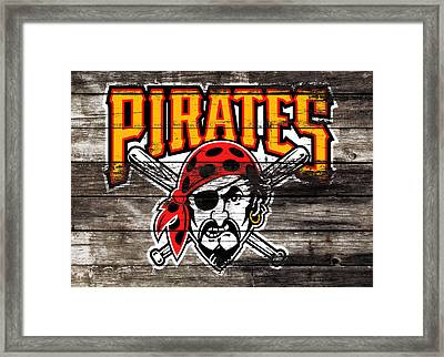 The Pittsburgh Pirates 1c Framed Print by Brian Reaves
