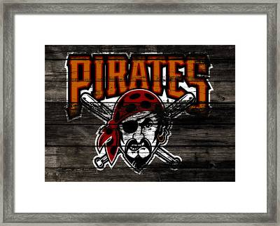 The Pittsburgh Pirates 1d Framed Print by Brian Reaves