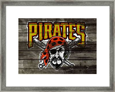 The Pittsburgh Pirates Framed Print by Brian Reaves