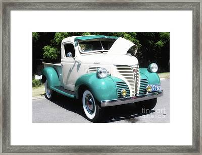 The Plymouth 1941 Framed Print by Steven Digman