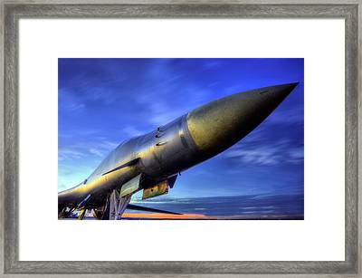 The Pointy End Of The Spear Framed Print by JC Findley