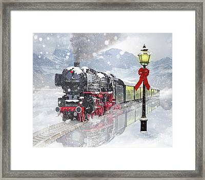 The Polar Express Framed Print by Juli Scalzi