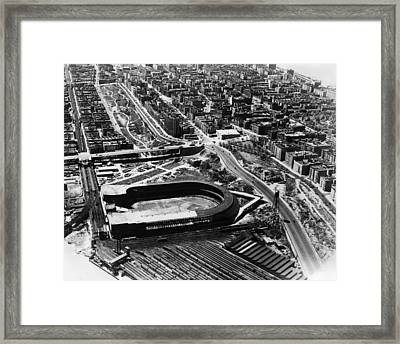 The Polo Grounds, New York October 3 Framed Print by Everett