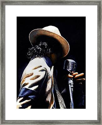 The Pop King Framed Print by Emerico Imre Toth