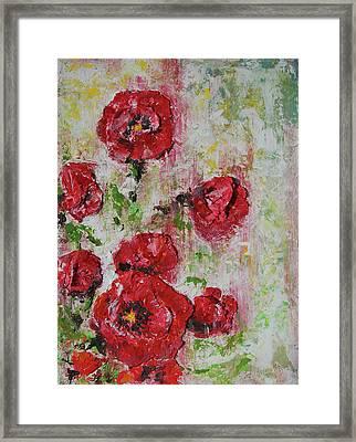 The Poppies Framed Print by Tatiana Ilieva