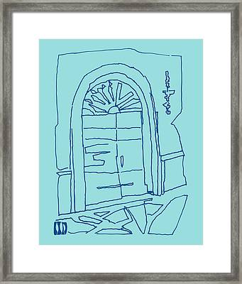 The Portal Limpit Shell Framed Print by CreativSOUP Dorothy Fagan