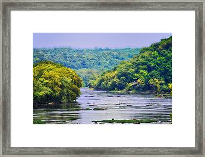 The Potomac Framed Print by Bill Cannon