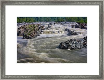 The Potomac Framed Print by Rick Berk