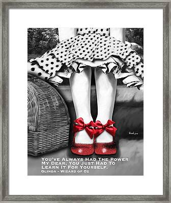 The Power Framed Print by Patti Parish