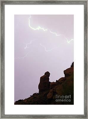The Praying Monk Phoenix Arizona Framed Print by James BO  Insogna