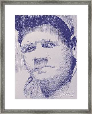 The Pride Of The Yankees Framed Print by Robbi  Musser