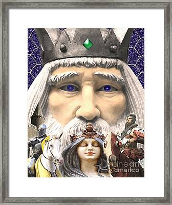 The Princess Dream Framed Print by Keith Dillon