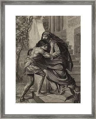 The Prodigal's Return Framed Print by Sir Edward John Poynter