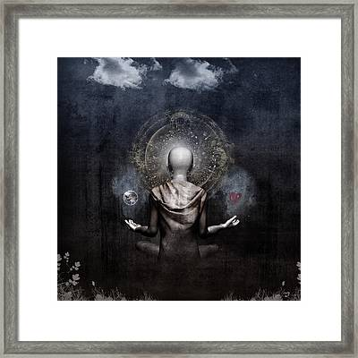 The Projection Framed Print by Cameron Gray