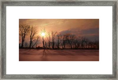 The Promise Of Spring Framed Print by Lori Deiter