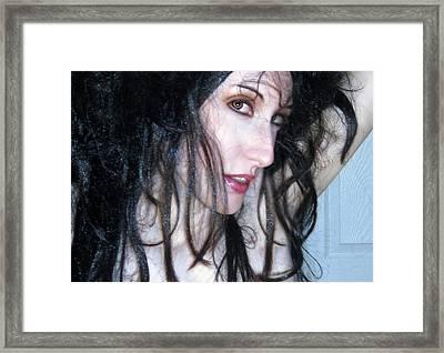 The Promise -self Portrait Framed Print by Jaeda DeWalt