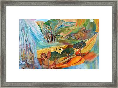 The Promised Land Framed Print by Linda Cull