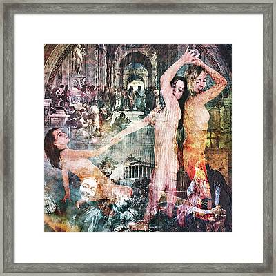 The Prophet On Teaching Framed Print by Barry Novis
