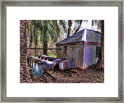 The Pumphouse Framed Print by Douglas Barnard