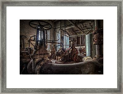 The Pumphouse Framed Print by Everet Regal