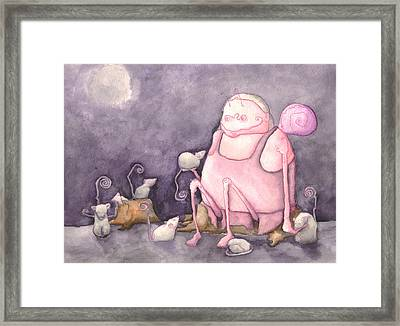 The Purpose Framed Print by Jonathan Arras