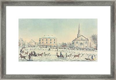 The Quebec Driving Club  Framed Print by William Wallace