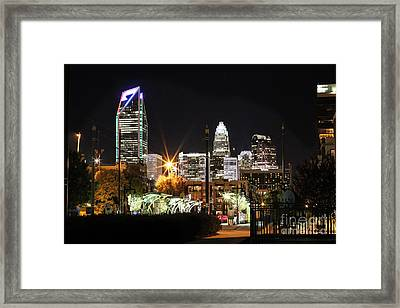 The Queen City Framed Print by Robert Yaeger