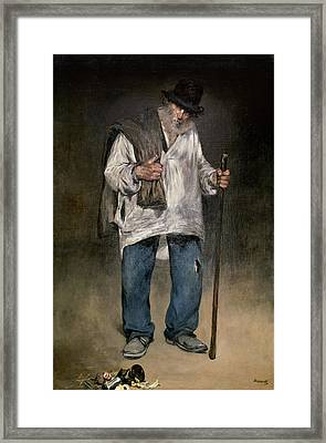 The Ragman Framed Print by Edouard Manet
