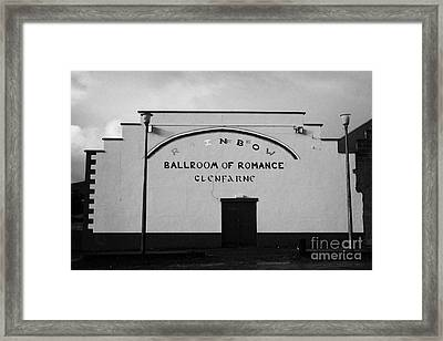 the rainbow ballroom of romance in Glenfarne county leitrim republic of ireland Framed Print by Joe Fox