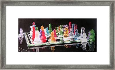 The Rainbow Warriors Framed Print by Susan Moyer