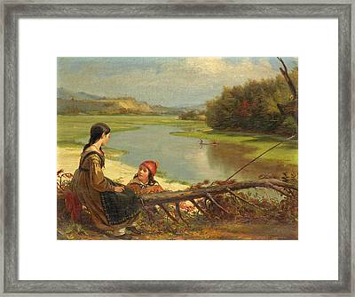 The Ramblers Framed Print by William Sidney Mount